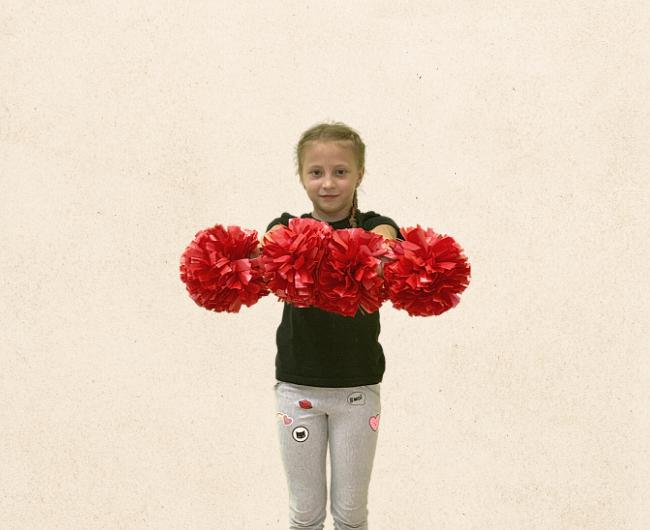 Базовые положения рук в черлидинге: Baskets
