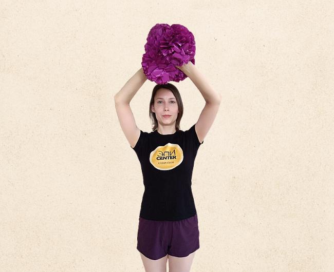 Базовые положения рук в чирлидинге: Cheerio